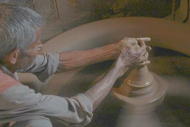 A potter d