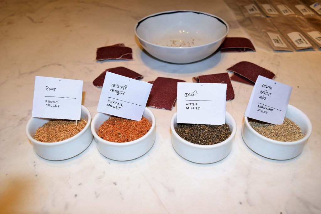 various kinds of millets