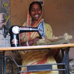 Sal leaf stitching brings happiness into Pushpa's life