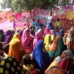 Community meetings spur village transformation