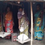 Women take charge of a ration shop in village Khutana